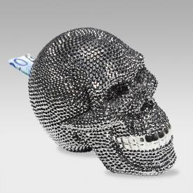 KARE Design Skull piggy bank