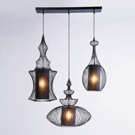 KARE Design Swing Iron Tre pendant light 3 heads