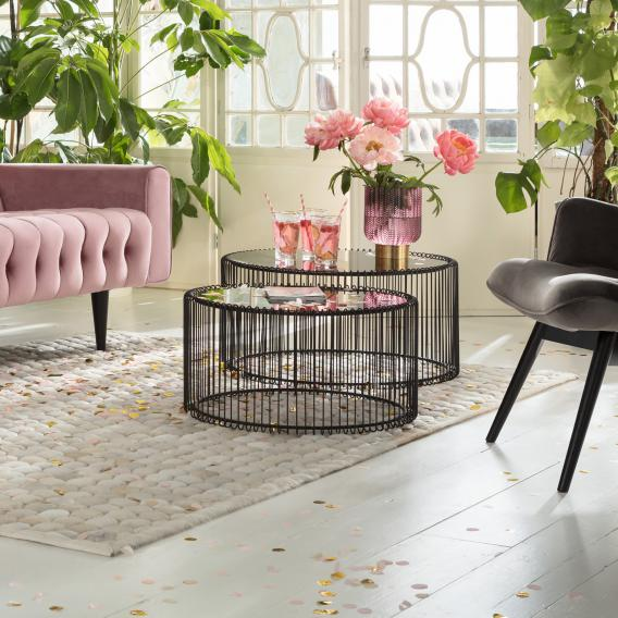 KARE Design Wire set of 2 coffee tables