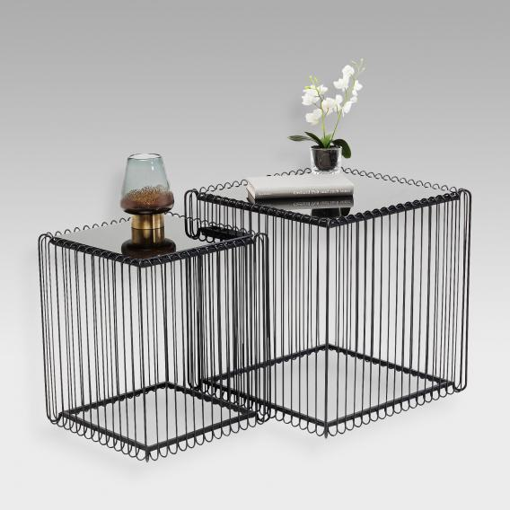 KARE Design Wire set of 2 side tables
