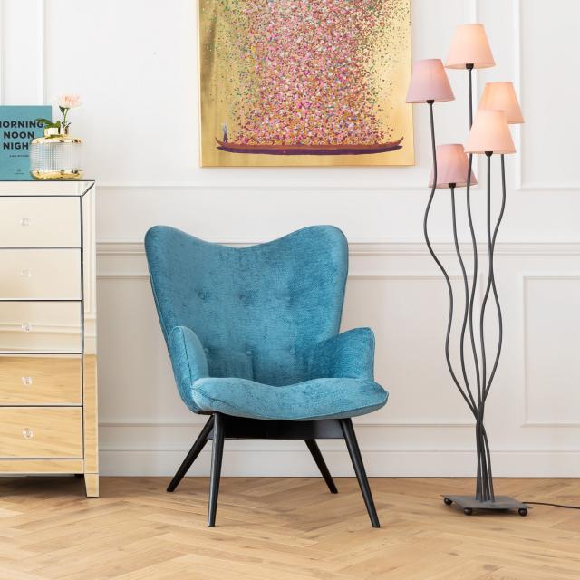 KARE Design Flexible Berry Cinque floor lamp