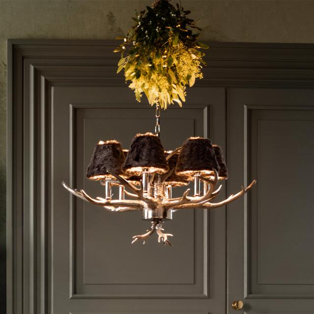 KARE Design Huntsman pendant light, 6 heads