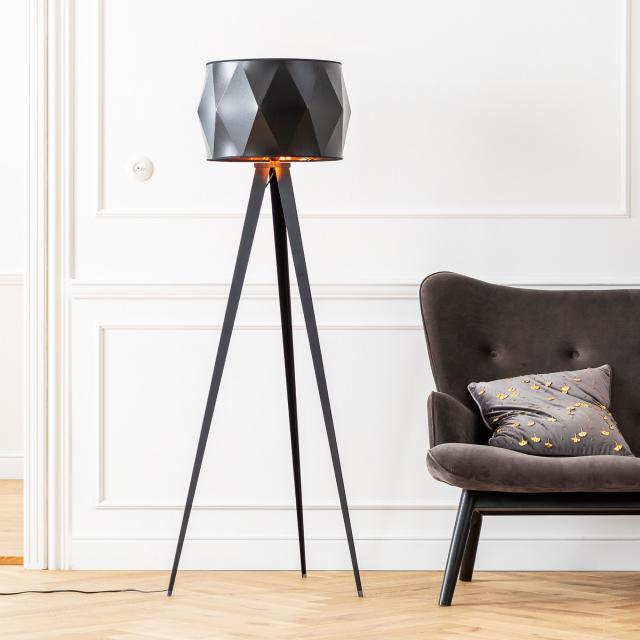 KARE Design Triangle Tripod floor lamp