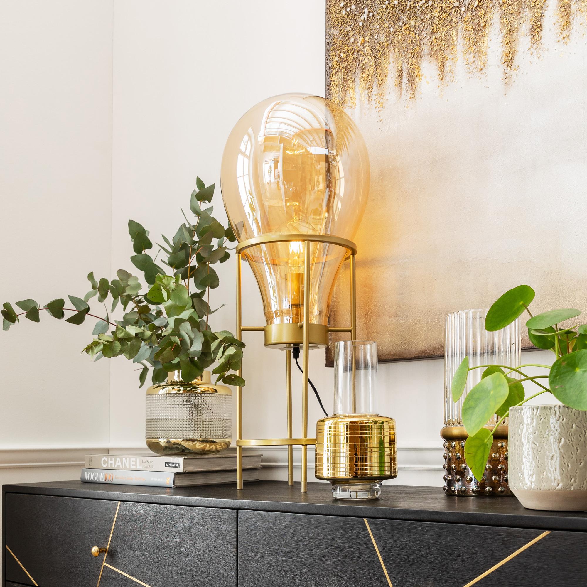 Kare Design Pear Frame Table Lamp 51323 Reuter