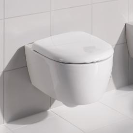 Geberit 4U wall-mounted, washdown rimless toilet white