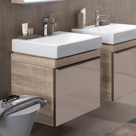 Geberit Citterio vanity unit for washbasin front taupe / corpus natural beige