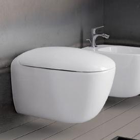 Geberit Citterio wall-mounted, washdown rimless toilet white, with KeraTect