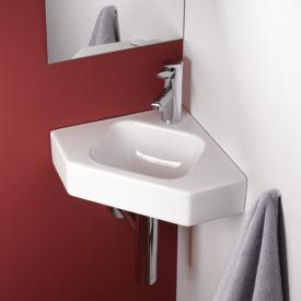 Geberit iCon corner hand washbasin white