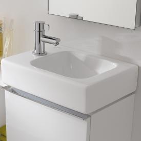 Geberit iCon hand washbasin white, with KeraTect