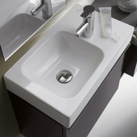 Geberit iCon hand washbasin white, with KeraTect