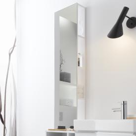 Geberit iCon rack with mirror alpine high gloss