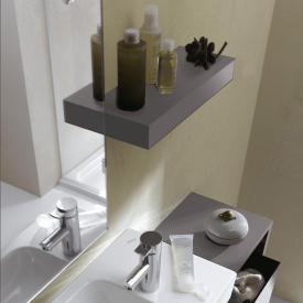 Geberit iCon shelf platinum high gloss