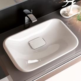 Geberit myDay drop-in basin white, with KeraTect