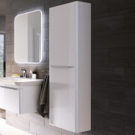 Geberit myDay tall unit incl. magnetic strip W: 40 H: 150 D: 25 cm front white high gloss / corpus white high gloss