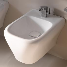 Geberit myDay wall-mounted bidet white, with KeraTect