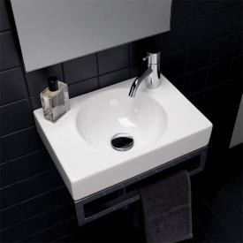 Geberit Preciosa II hand washbasin white, with KeraTect