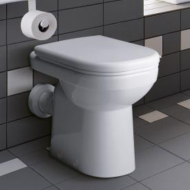 Geberit Renova Comfort floorstanding, washdown toilet L: 55.5 W: 39 cm white, with KeraTect