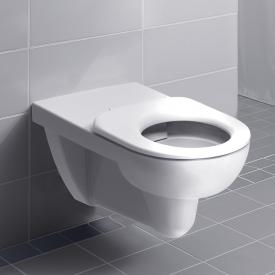 Geberit Renova Comfort wall-mounted, washdown rimless toilet white, with KeraTect