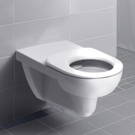 Geberit Renova Comfort wall-mounted washdown toilet, rimless white, with KeraTect