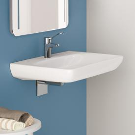 Geberit Renova Comfort washbasin 55cm, barrier-free, with tap hole, without overflow white