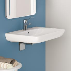 Geberit Renova Comfort washbasin white, with 1 tap hole, with overflow