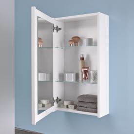 Geberit Renova Plan wall unit W: 39 H: 70 D: 17.3 cm front white gloss / corpus white gloss