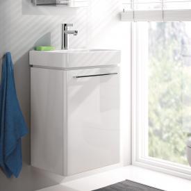 Geberit Smyle vanity unit front white high gloss / corpus white high gloss