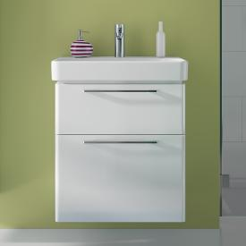 Geberit Smyle vanity unit front white high gloss / corpus white high gloss