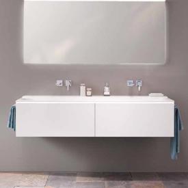 Geberit Xeno² double washbasin white, without tap hole