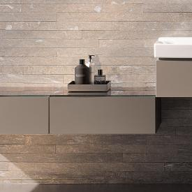 Geberit Xeno² side unit front matt greige / corpus matt greige