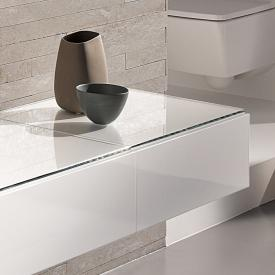Geberit Xeno² side unit front white high gloss / corpus white high gloss