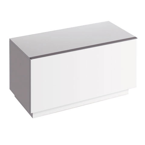 Geberit iCon side unit with 1 pull-out compartment front alpine high gloss / corpus alpine high gloss