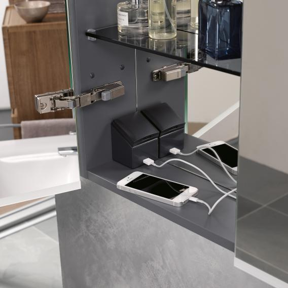 Geberit Option mirror cabinet PLUS