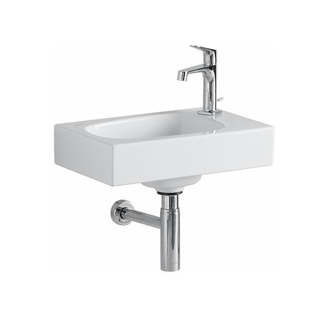 Geberit Citterio hand washbasin white, with KeraTect