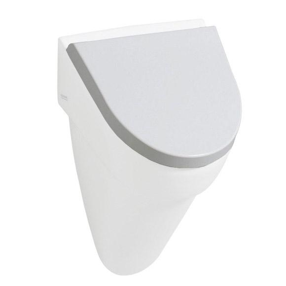 Geberit Flow urinal white, with soft-close