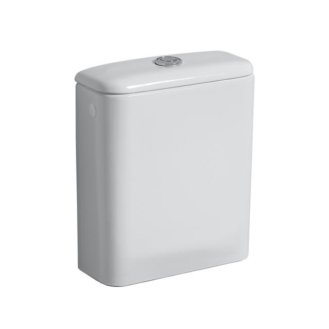 Geberit iCon ceramic cistern, side inlet left/right white, with KeraTect