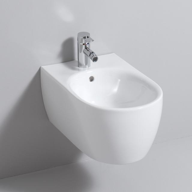 Geberit iCon wall-mounted bidet, L: 54 W: 35.5 cm white, with KeraTect
