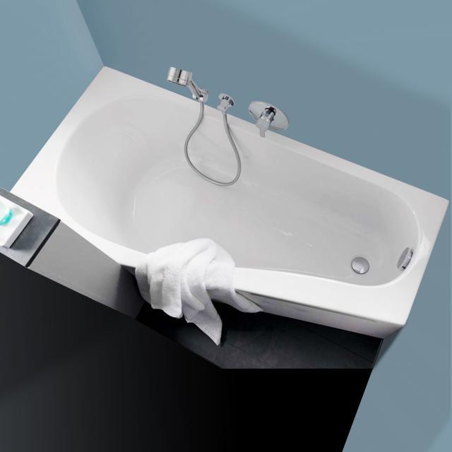 Geberit Renova Compact bath, built-in white
