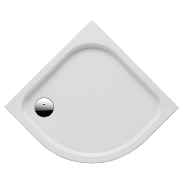 Geberit Renova quadrant shower tray white