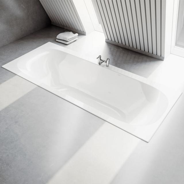 Geberit Soana Duo rectangular bath, built-in