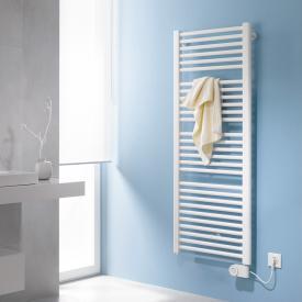 Kermi Basic-E bathroom radiator for purely electrical operation white, 800 Watt, electric set FKS right