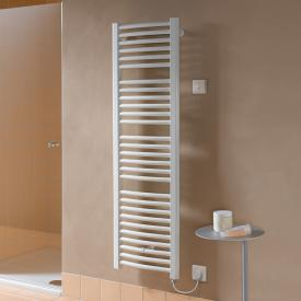 Kermi Basic R-E radiator, electric operation only, with curved tubes white, 1200 Watt, electric set WKS R