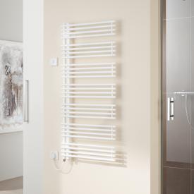 Kermi Diveo-E radiator, electric operation only white, electric set WFS L