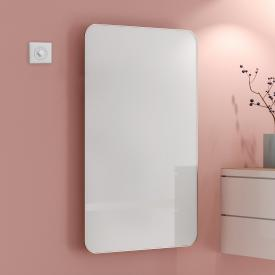 Kermi Elveo heating panel white/aluminium, 510 Watt, with electric set WKS