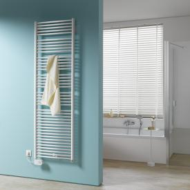Kermi Geneo circle-E radiator for electric operation only chrome, electric set FKS left