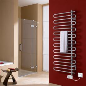 Kermi Icaro-E radiator, electric operation only metallica, W: 40 H: 184.1 cm, 600 Watt, electric set FKS right