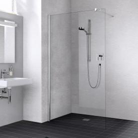 Kermi Liga Walk In wall TSG clear / silver high gloss