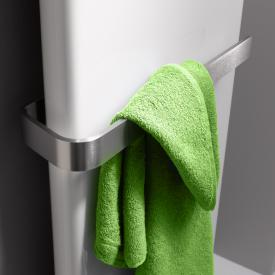Kermi towel rail for Pateo brushed stainless steel