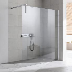 Kermi Walk In XS wall TSG clear / silver high gloss