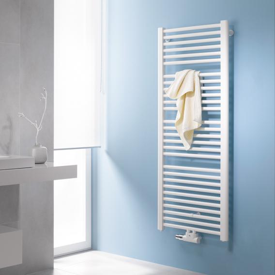 Kermi Basic-50 bathroom radiator for hot water or mixed operation white, 993 Watt